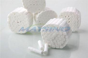 Medical standards for cotton rolls