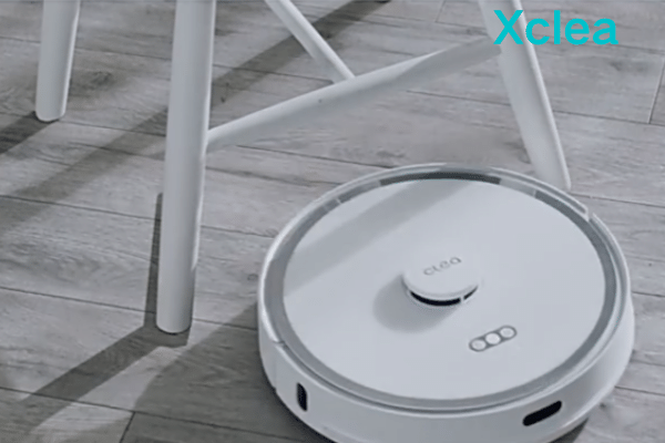 Automatic obstacle avoidance sweeper