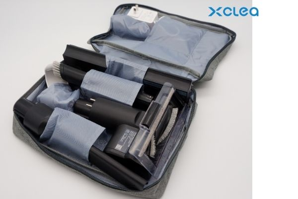 Vacuum cleaner in storage bag