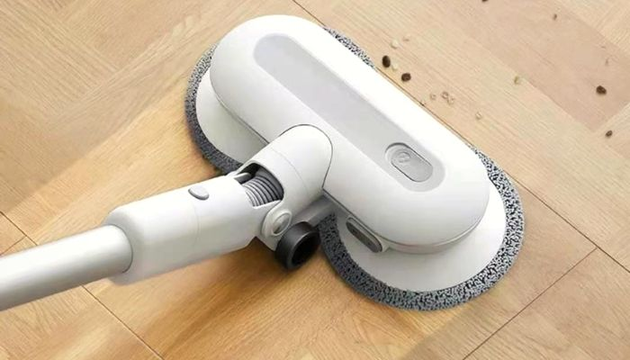 Efficient mopping capability