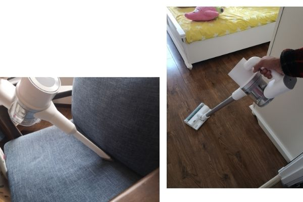 Multifunctional vacuuming and mopping
