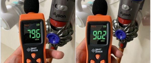 Dyson vacuum cleaner noise