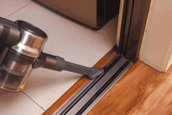Clean the crevices with a vacuum cleaner