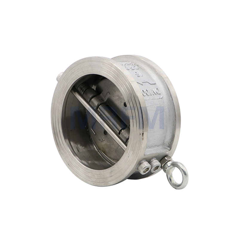 Water Clamped Butterfly Check Valve