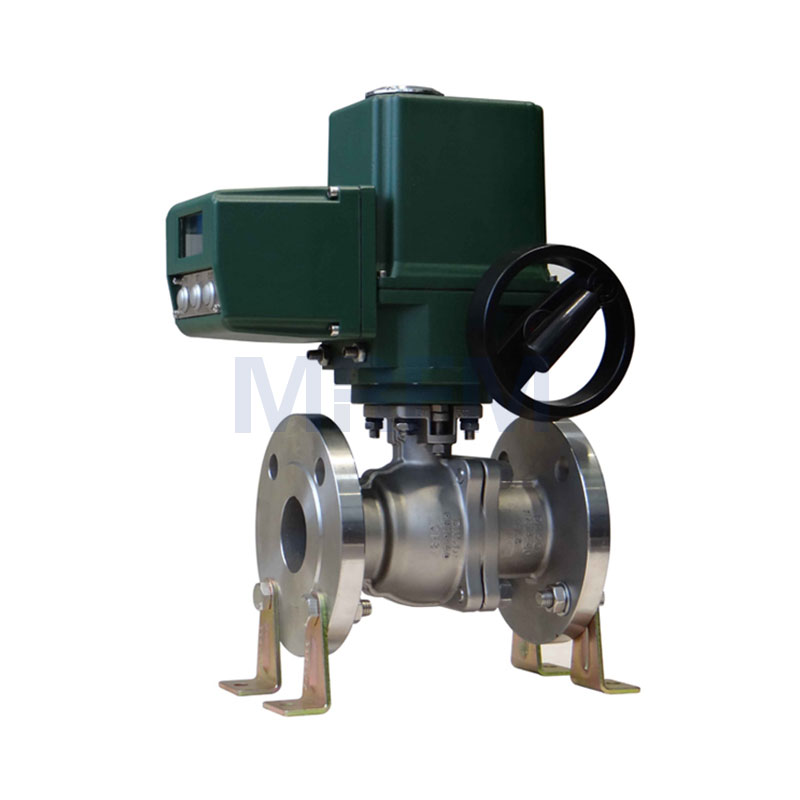 Electric Explosion-proof Intelligent Stainless Steel Flange Ball Valve