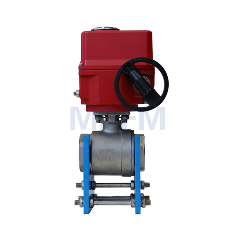 Electric Explosion-proof Two-piece Ball Valve