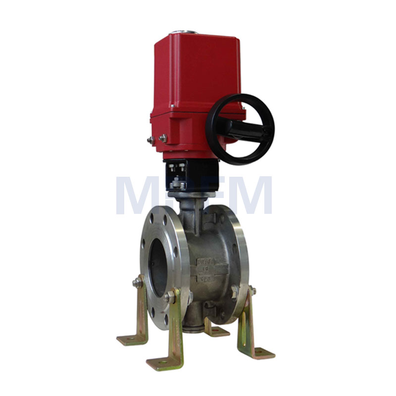 Electric Explosion-proof Flange Butterfly Valve
