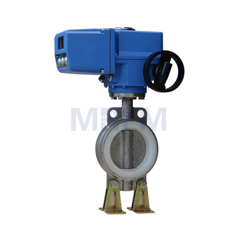 Electric Intelligent Sanitary Butterfly Valve