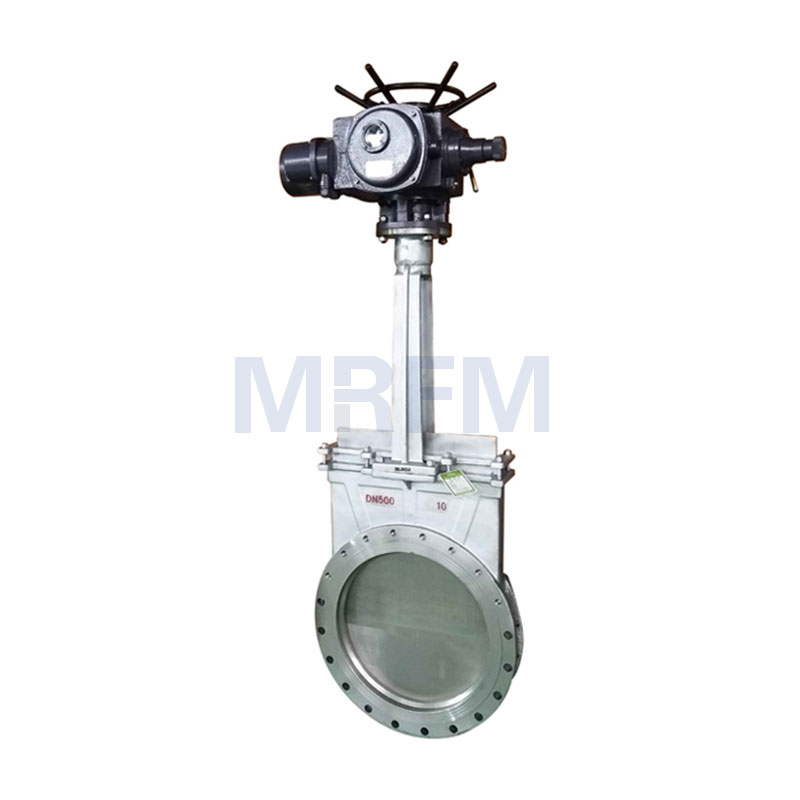 Electric Stainless Steel Knife Gate Valve