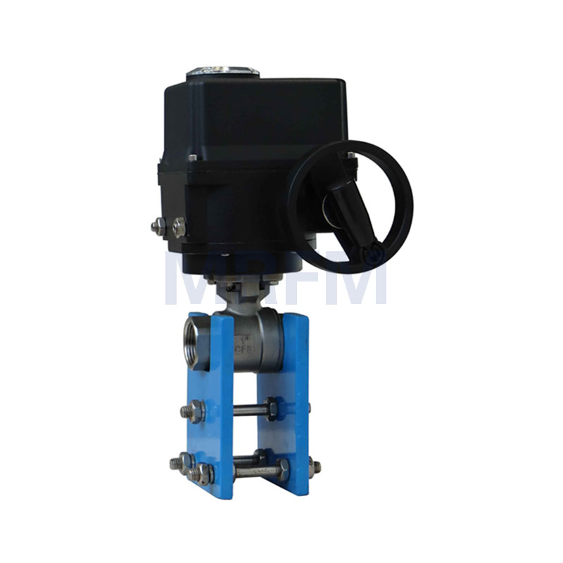 Electric Two-piece Ball Valve