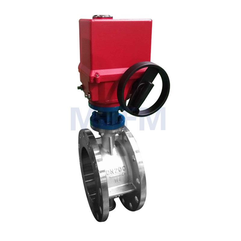 Electric Explosion-proof Stainless Steel Butterfly Valve