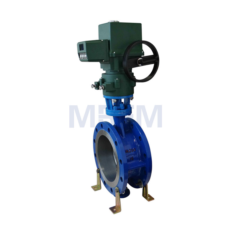 Electric Explosion-proof Intelligent Hard Seal Flange Butterfly Valve