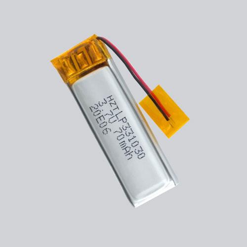 Bateria de dispositivo vestível