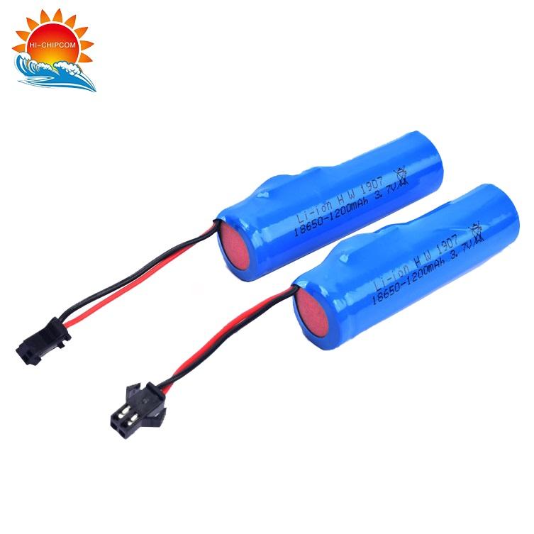 Electric Toy Gun Battery 1200mAh 3.7V
