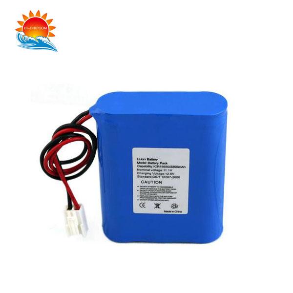 Monitorear la batería de litio
