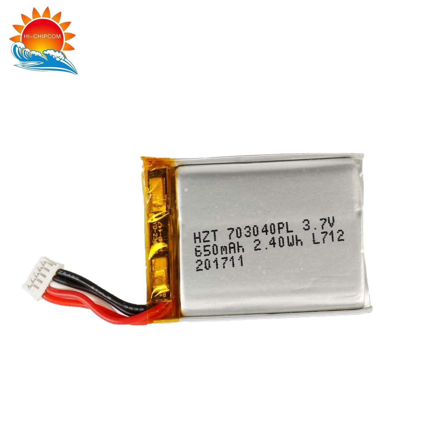 Smart Watch 650mAh Battery