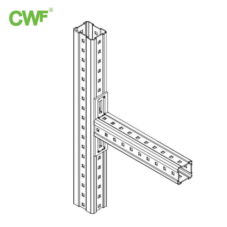 Channel Steel Column Support Arm System
