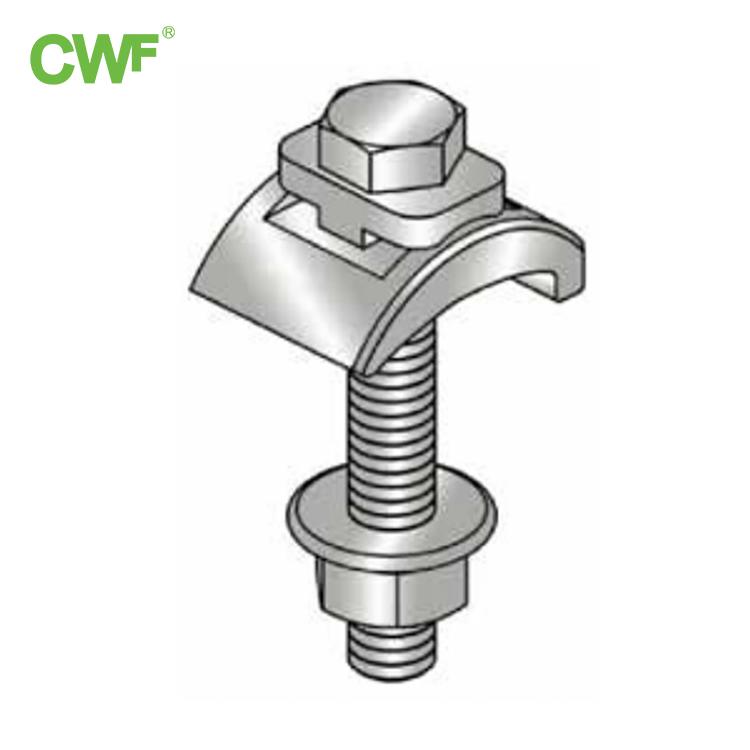 Clamp Beam Struktur Keluli Berat WH-F-BC M12