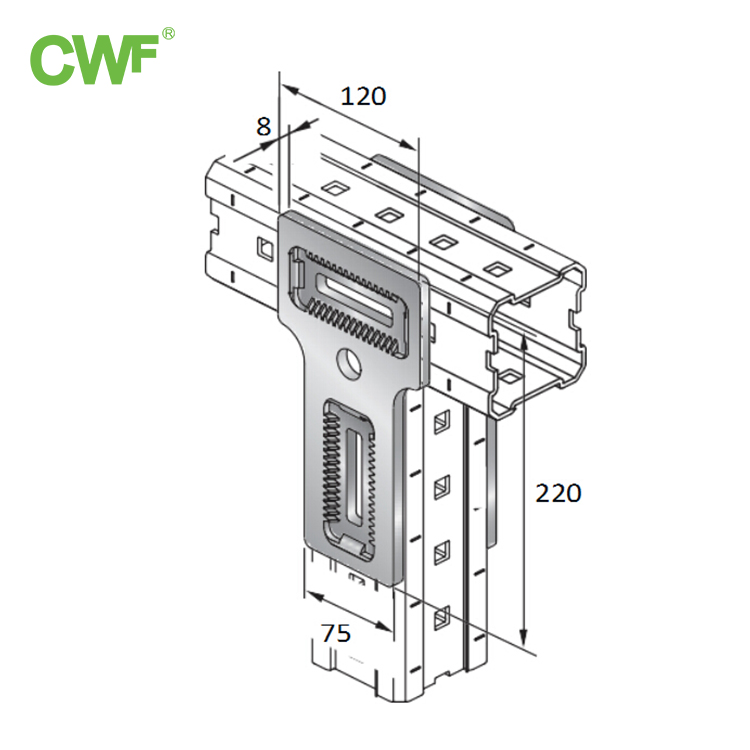 Plane Support Connector WH-S-T