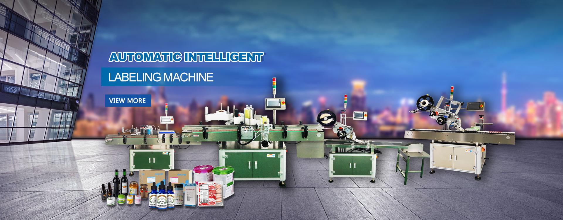 Automatic Intelligent Labeling Machine