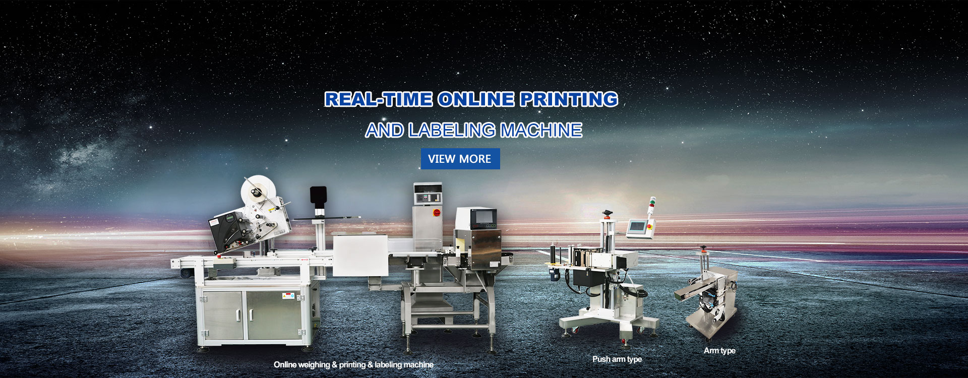 Real-time Online Printing And Labeling Machine