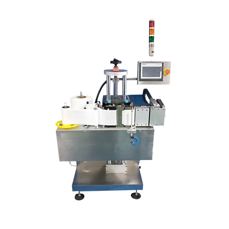 Push-Arm Printing And Labeling Machine