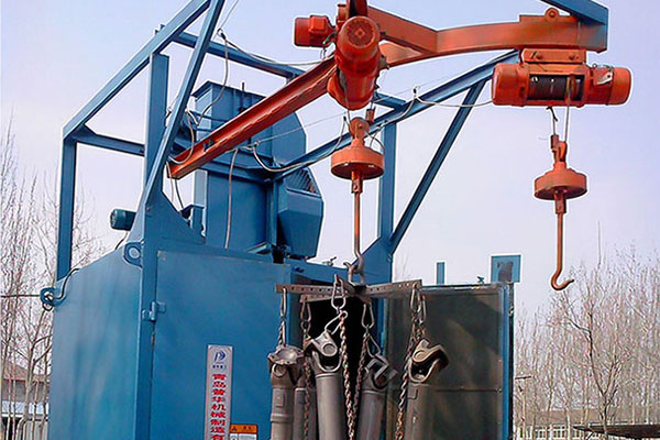 How much do you know about hook shot blasting machine