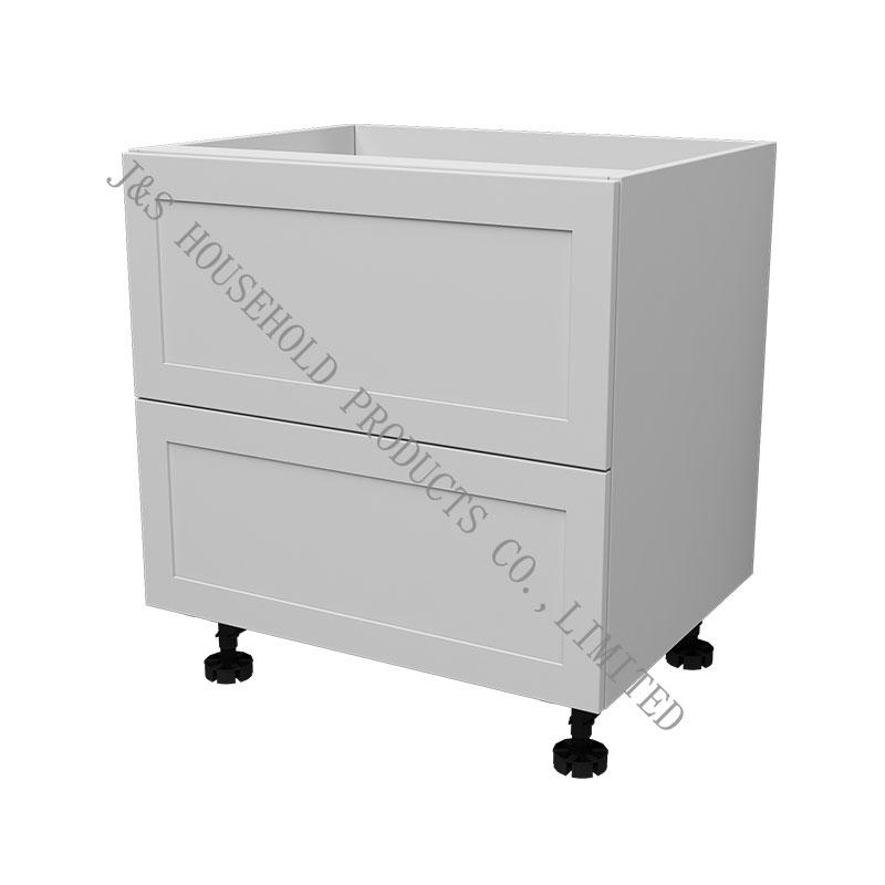 Two Drawers Base Flat Pack Kitchen design