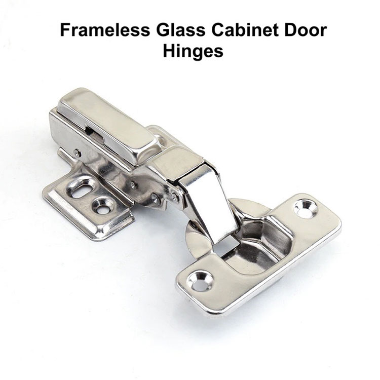 Raamita klaasist kapi uksehinged