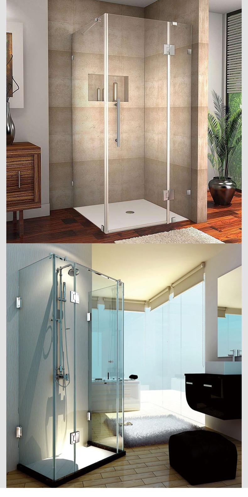 Stainless Steel Glass Shower Door Hinges