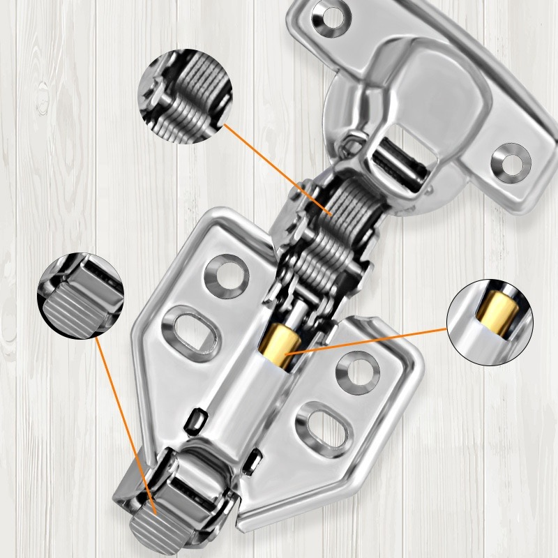 Stainless Steel Soft Close Hinges