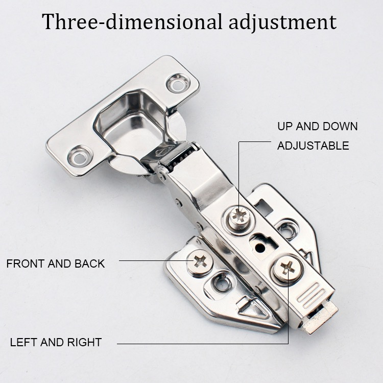 Stainless Steel Concealed Cabinet Hinges