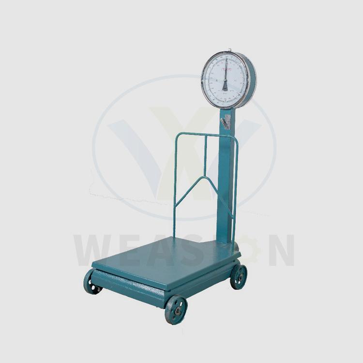 Ръчна скала за балансиране на теглото на платформата