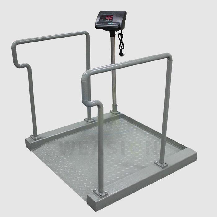Svarstanti skaitmeninio ekrano vežimėlio svarstyklė