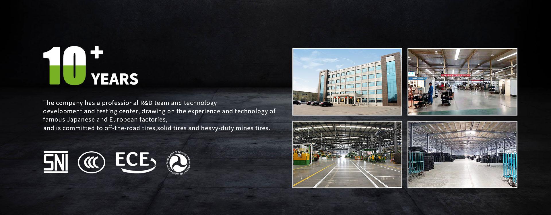 Factory of Mining Tire, Truck Tyre, OTR Tire