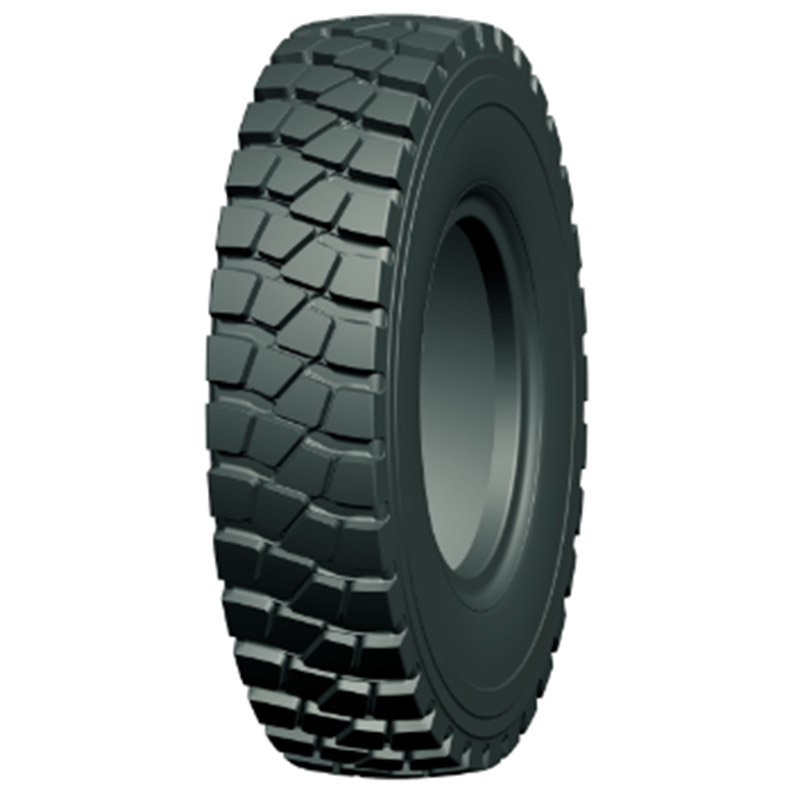 One of the wide-base dump truck tire series