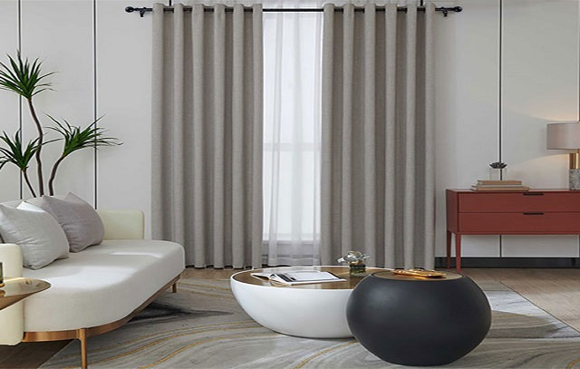 How to buy plain curtains