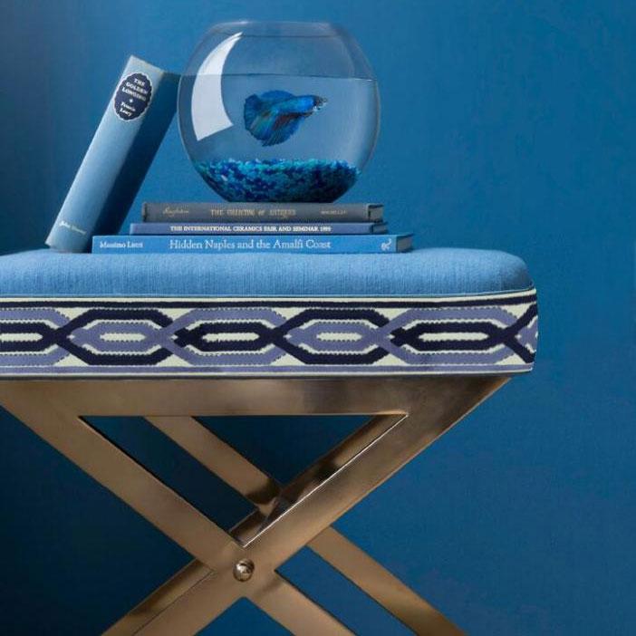 JBL Jacquard Cut Velvet New Design Border Trims