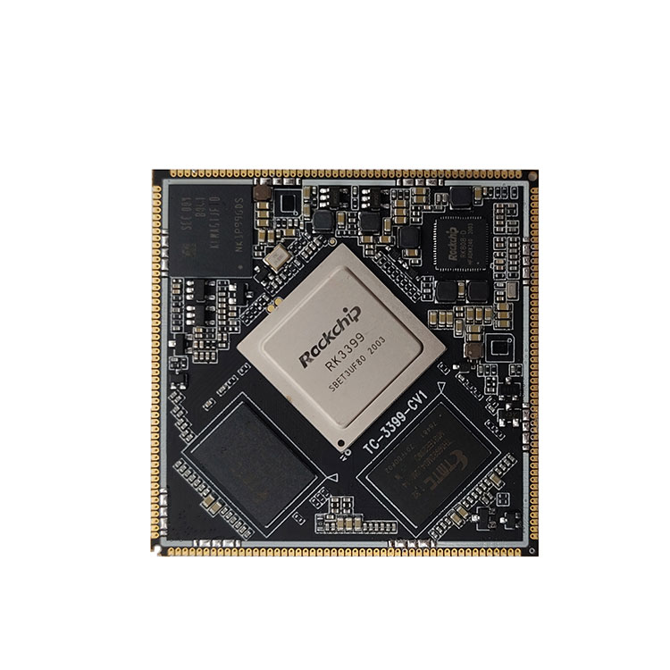 TC-RK3399 Core Board For Stamp Hole
