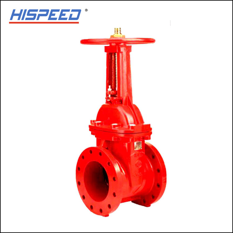 DIN PN16 Rising Stem Resilient-Seated(OS and Y) Gate Valve