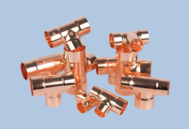 Pipe fittings with you to understand the air conditioning copper pipe copper tee