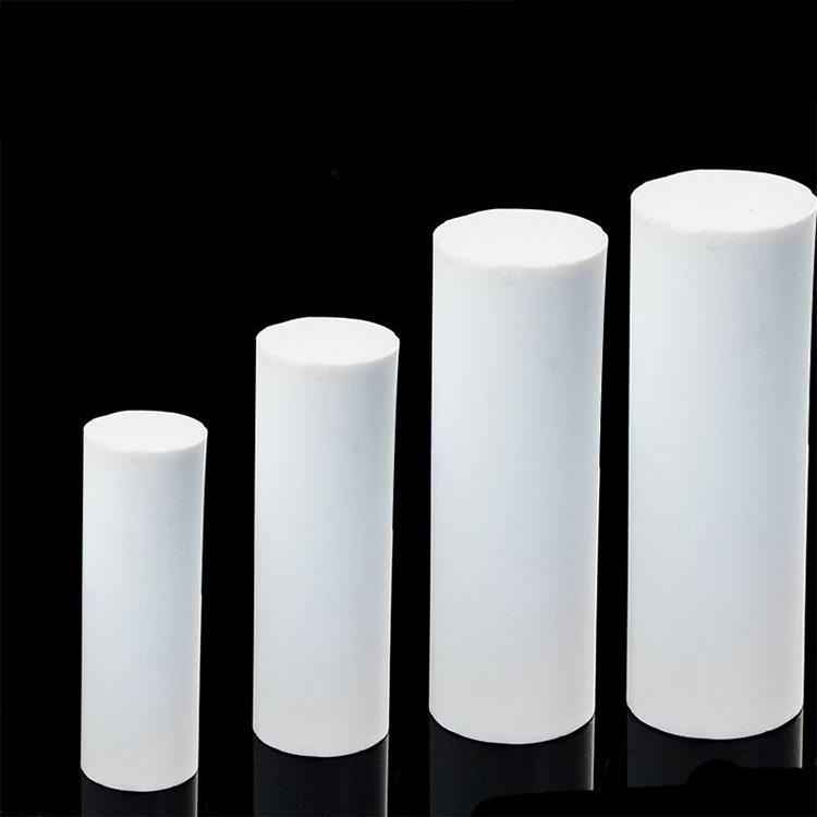 100% virgin customized high temperature resistant heat resistant reusable flexible antistatic non-adhesive ptfe plastic rod